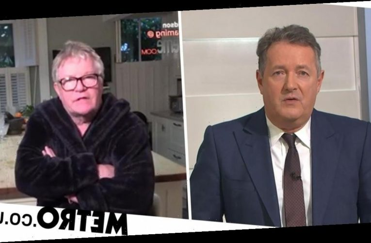 Piers Morgan and Jim Davidson in ferocious clash in row over PM's apology