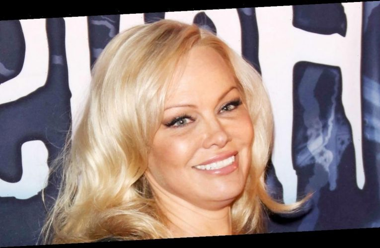 What a Look! Pamela Anderson Almost Got Married in Silk Pajamas