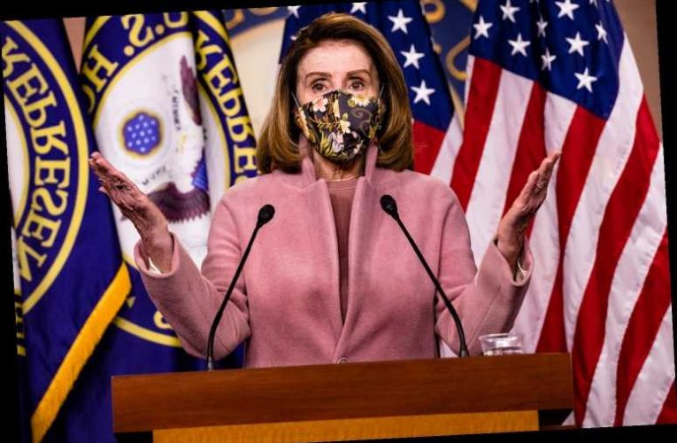 What did Nancy Pelosi say in her speech today Thursday, January 28, 2021?