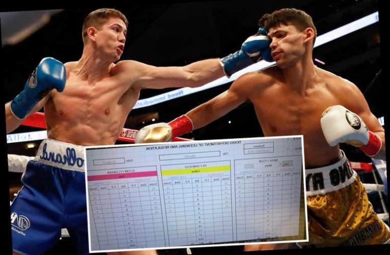 Luke Campbell vs Ryan Garcia scorecards: Judge bizarrely scores 10-9 round despite Brit's knockdown leaving fans bemused