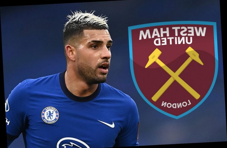 Chelsea reject West Ham loan transfer offer for Emerson Palmieri with heavy fixture pile-up ahead