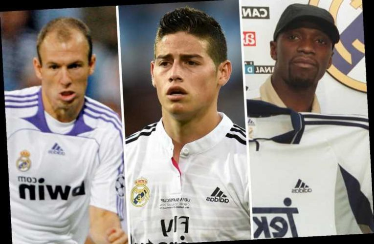 Real Madrid stars who quit club and showed they were world class elsewhere, including Rodriguez, Robben and Makelele