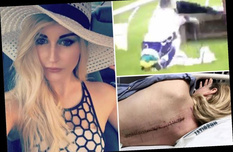 Jockey who was told she'd never walk again after crushing spinal cord in horror fall nears astonishing racing return