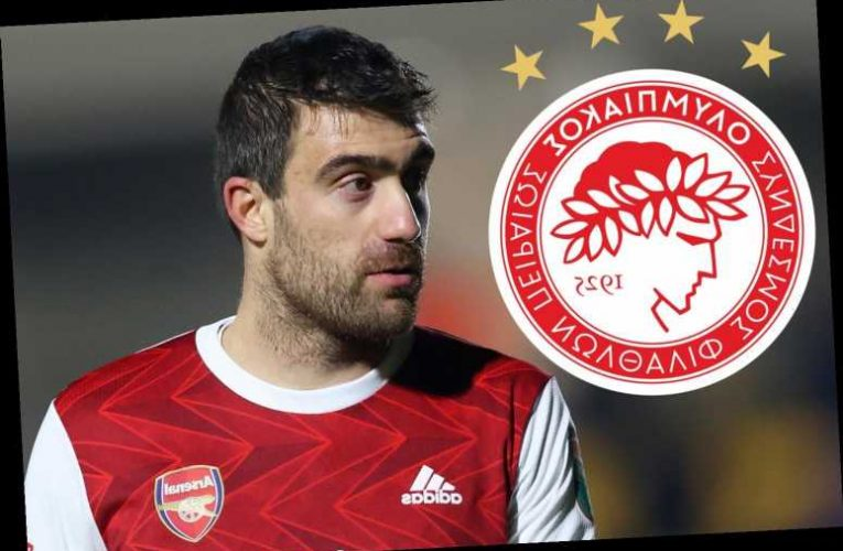 Axed Arsenal flop Sokratis 'closing in on Olympiacos free transfer' amid Lazio interest after Emirates contract axe