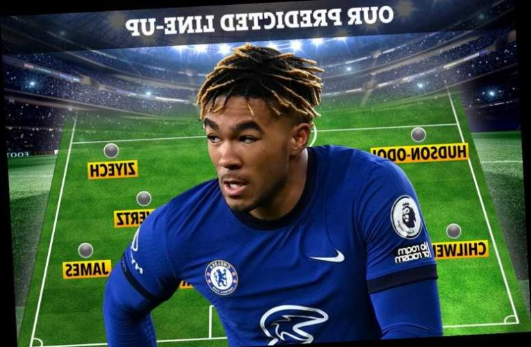 How Chelsea could line up at Leicester with Reece James and Andreas Christensen BACK but N'Golo Kante still struggling