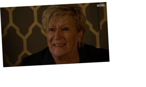 EastEnders fans in tears as Shirley Carter breaks down over son Mick's abuse