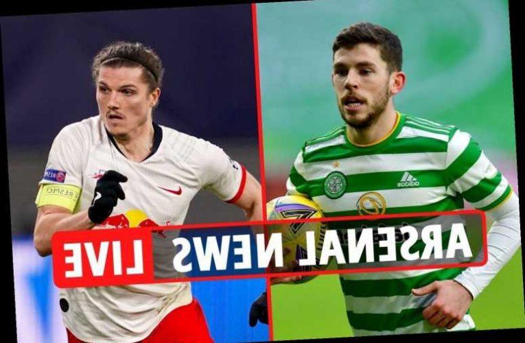 4.30pm Arsenal transfer news LIVE: Ryan Christie eyed, Sabitzer deal, Joan Jordan LATEST, Saliba set 'to LEAVE'