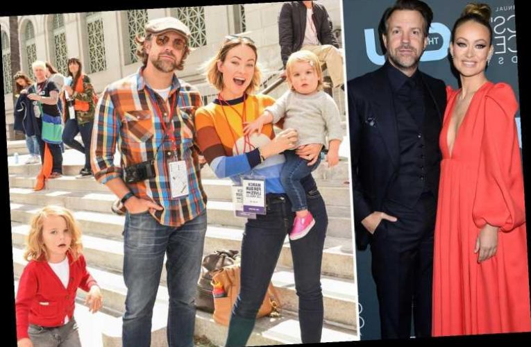 How many kids does Olivia Wilde have with Jason Sudeikis?