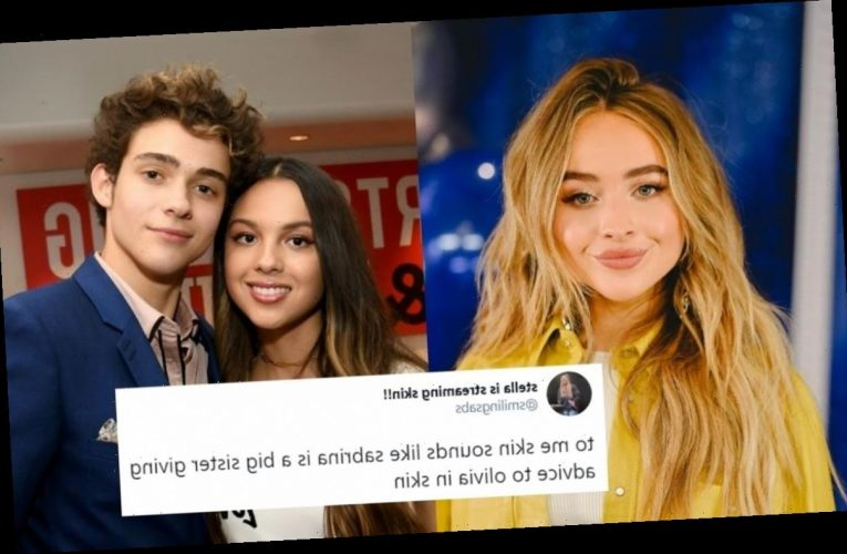 """These Tweets About Sabrina Carpenter's """"Skin"""" Are So, So Split"""