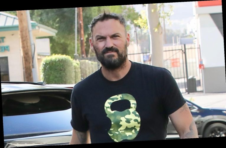Brian Austin Green Goes Casual While Running Errands in Malibu
