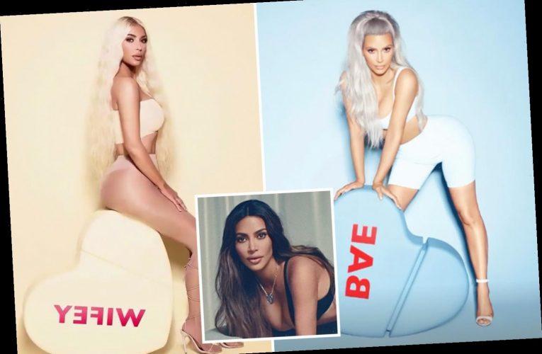 Kim Kardashian gives off 'wifey' vibes as she promotes her KKW Fragrance restock amid Kanye West 'divorce'