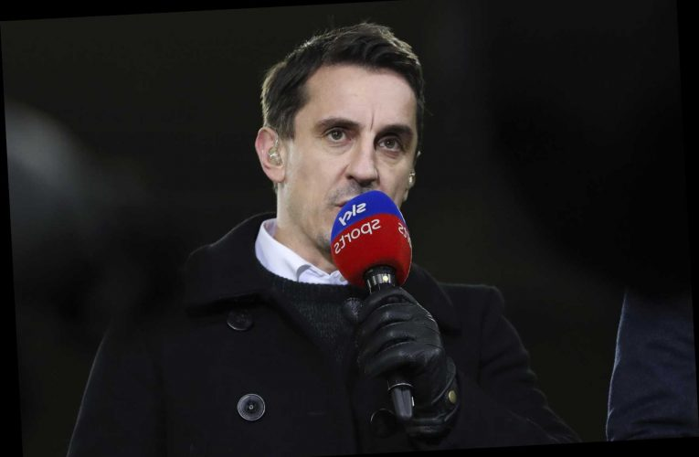 Gary Neville picks the TWO positions Man Utd need to strengthen in transfer window following 0-0 draw with Liverpool