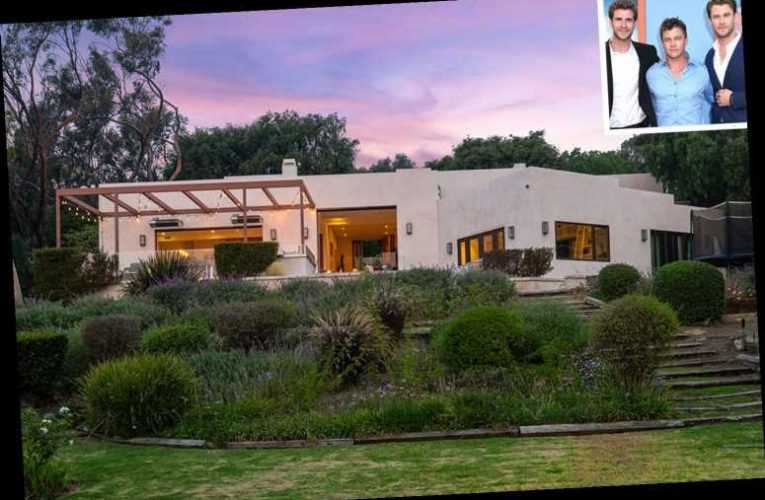 Brothers Liam, Chris and Luke Hemsworth Sell Their Shared Malibu Estate for $4.3M — See Inside!