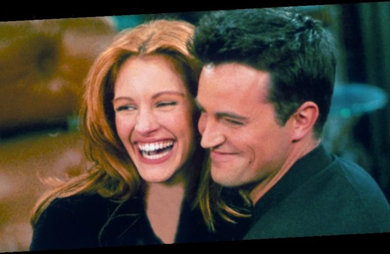 Julia Roberts Made Matthew Perry Do This Before She Would Guest Star on 'Friends'