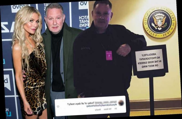RHOBH star Dorit Kemsley's husband PK slammed as 'tone deaf' for joking about Capitol riots just hours after violence