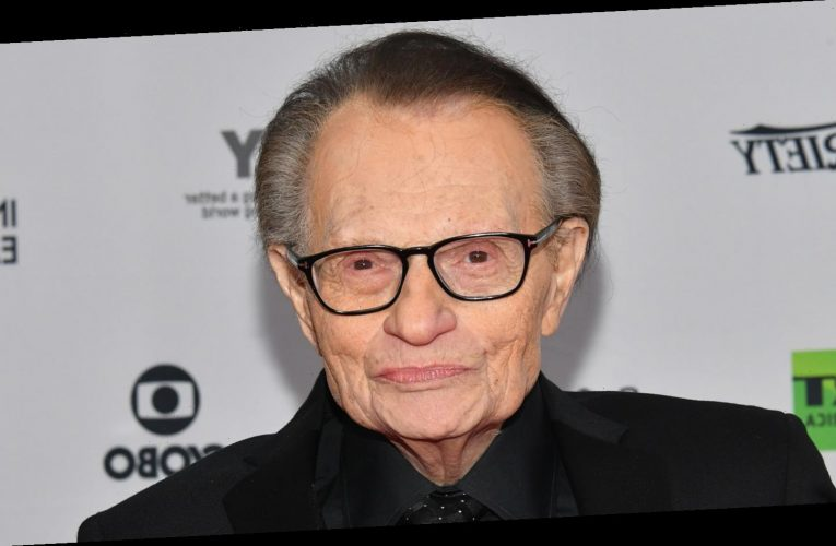 Larry King Has Reportedly Been Hospitalized for COVID-19