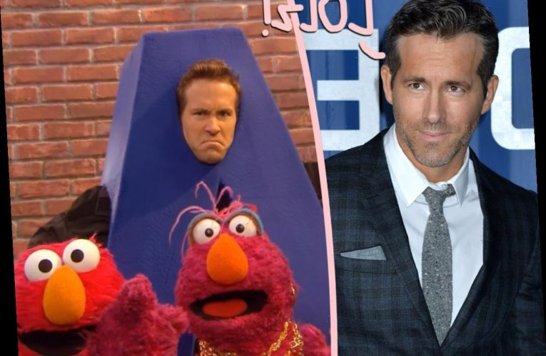 See Ryan Reynolds's Raunchy Response To Resurfaced Sesame Street Appearance!