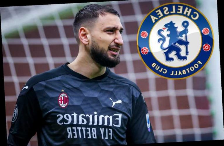 Chelsea 'in talks with AC Milan keeper Gianluigi Donnarumma as they eye stunning free transfer' despite Mendy's arrival
