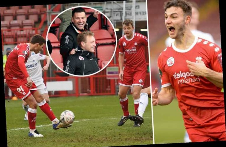 Crawley 3 Leeds 0: Mark Wright makes pro debut as Town thump Premier League side to reach FA Cup fourth round