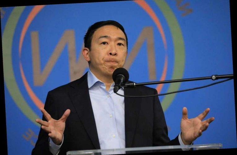 Andrew Yang wants to make  NYPD cops live in NYC — but he can't