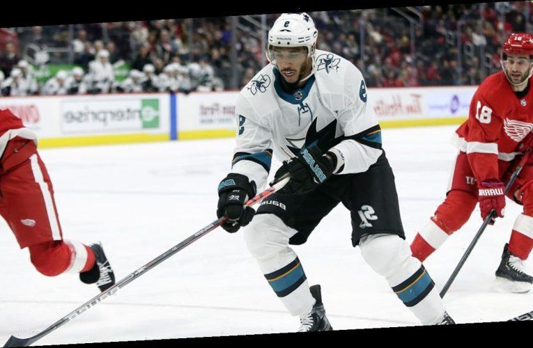 Sharks' Evander Kane files for bankruptcy with $26.8 million in debt