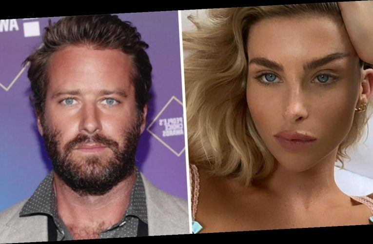 Armie Hammer's ex-girlfriend says actor 'has a desire to hurt women'