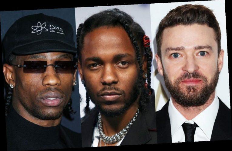 Justin Timberlake Names Kendrick Lamar and Travis Scott as His Dream Collaborators
