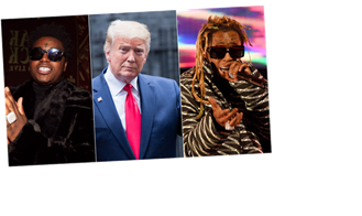 President Trump Grants Clemency to Lil Wayne and Kodak Black
