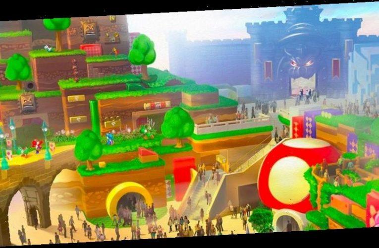 Universal Studios Japan Offers Virtual Web Tour of Super Nintendo World