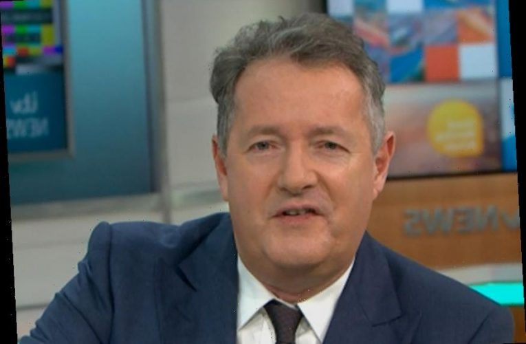 Piers Morgan reveals police are taking vile death threat from online troll 'seriously' as he gives a statement