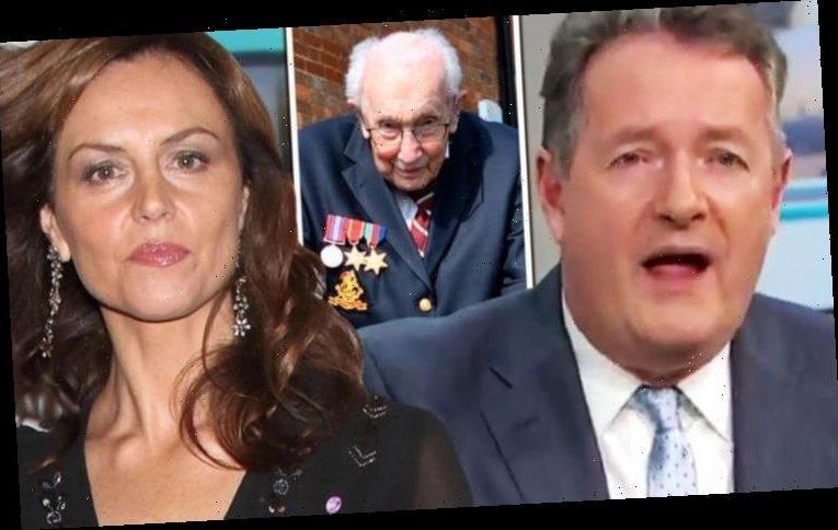 Beverley Turner slammed by Piers Morgan as she refuses to clap for Captain Sir Tom Moore