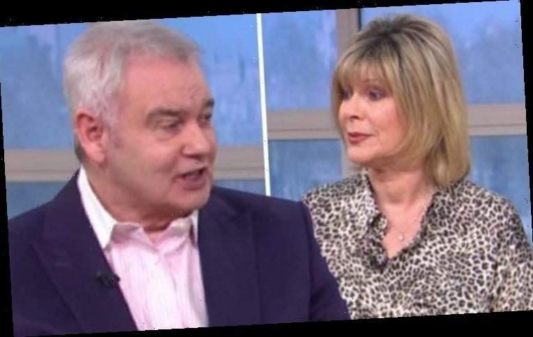 Eamonn Holmes responds to 'fat-shaming' jibe towards wife Ruth 'I can't make a comment'
