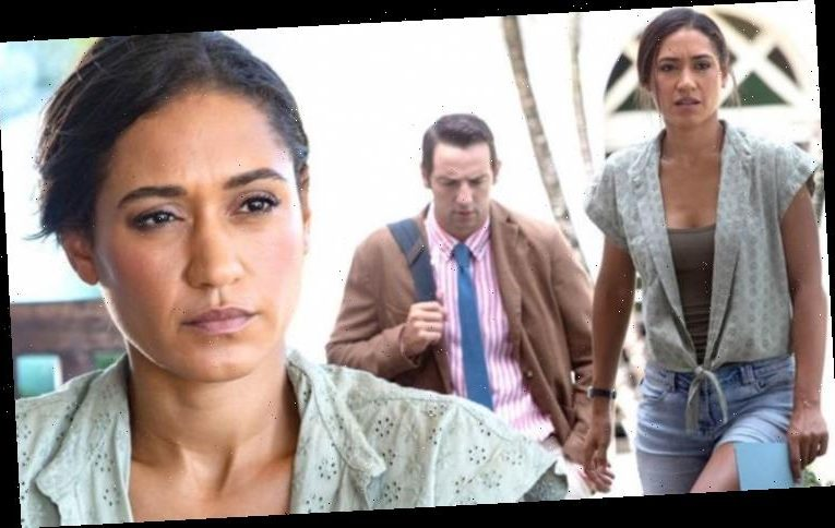 Death in Paradise's Josephine Jobert details main challenge she has on set 'Have a coach'