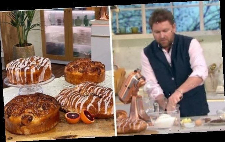 James Martin: Chef shares easy chocolate orange delight bun recipe on This Morning
