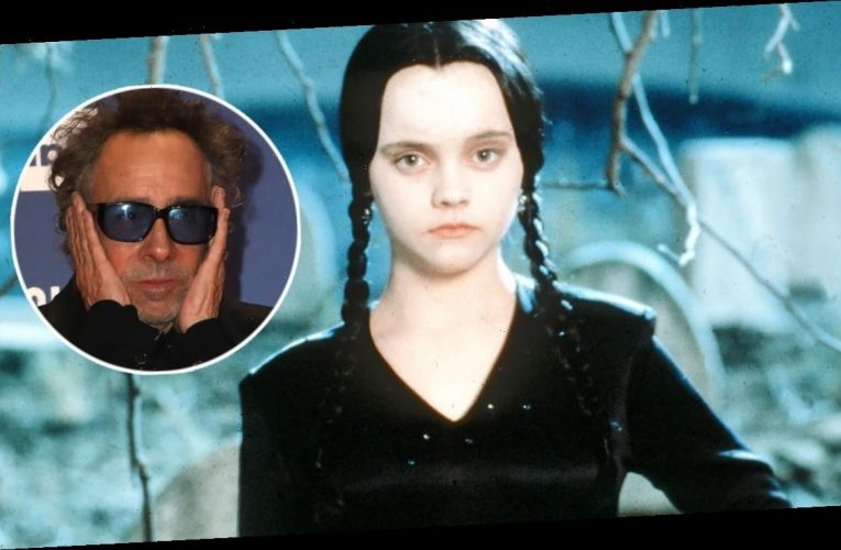 Tim Burton to Direct Live-Action Wednesday Addams Series for Netflix