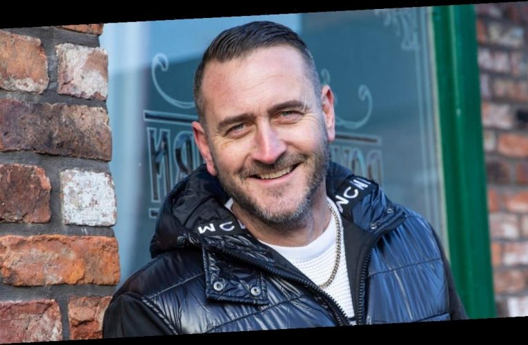 Coronation Street newbie Will Mellor tributes late dad in touching soap scenes