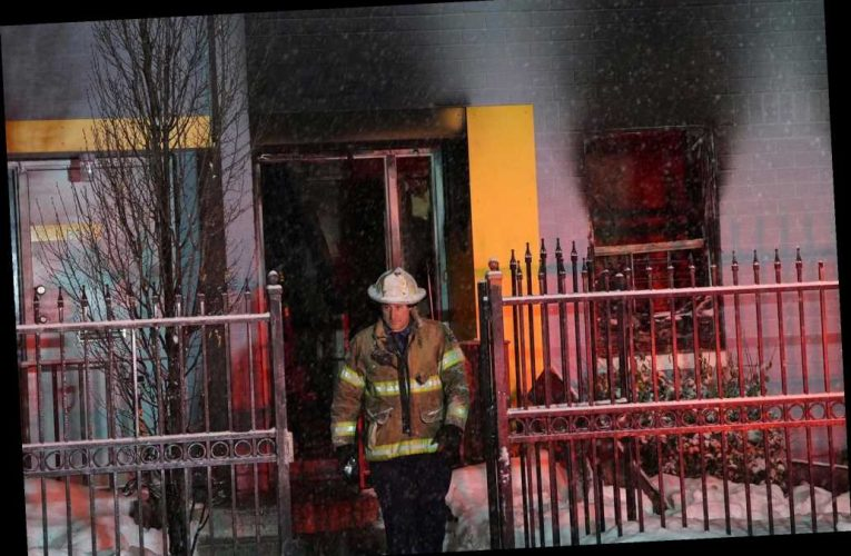 Jersey City house fire leaves at least one dead