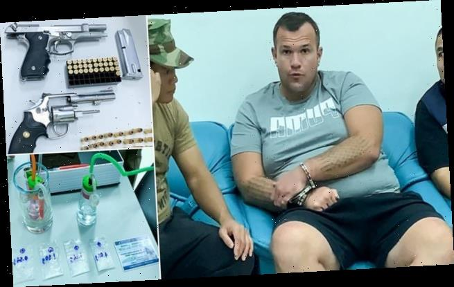 British man arrested in Thailand after 'drug-fuelled shooting spree'
