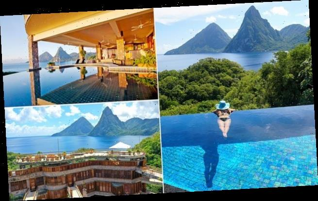 Behind the scenes at dreamy St Lucia hotel Jade Mountain