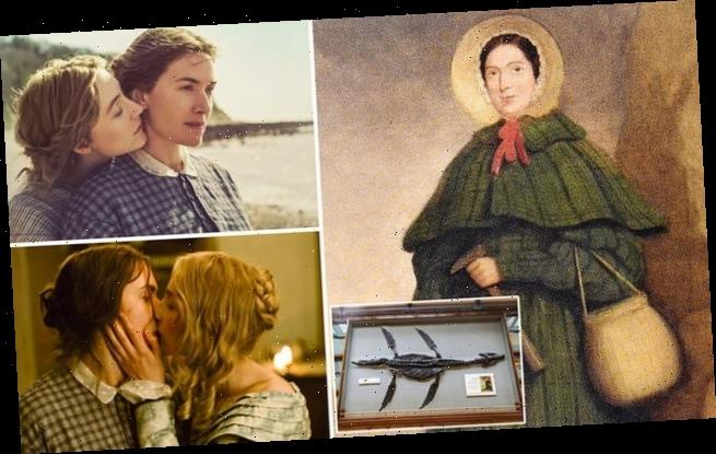 Why did Mary Anning film starring Kate Winslet make up lesbian affair?