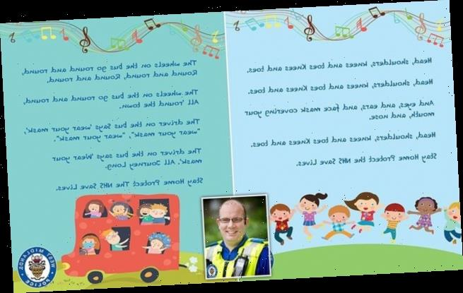 Police 'treating public like children' with nursery rhyme Covid ads