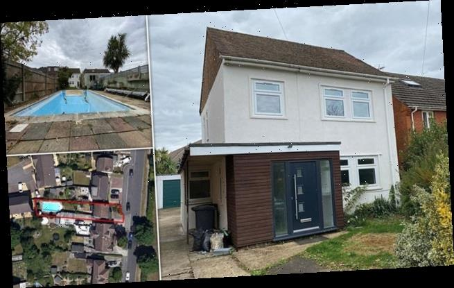 See inside the modest-looking three-bedroom house with a swimming pool