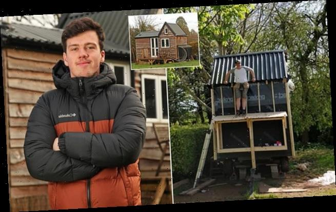 Teenager, 17, spends two years building his own house for just £6,000