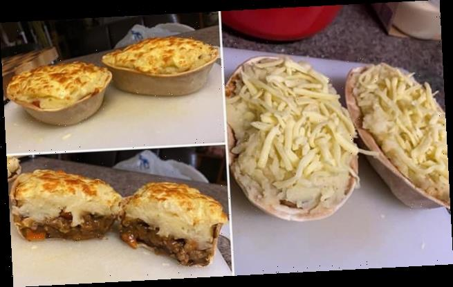 Amazing hack for creating cheap shepherd's pie BOATS