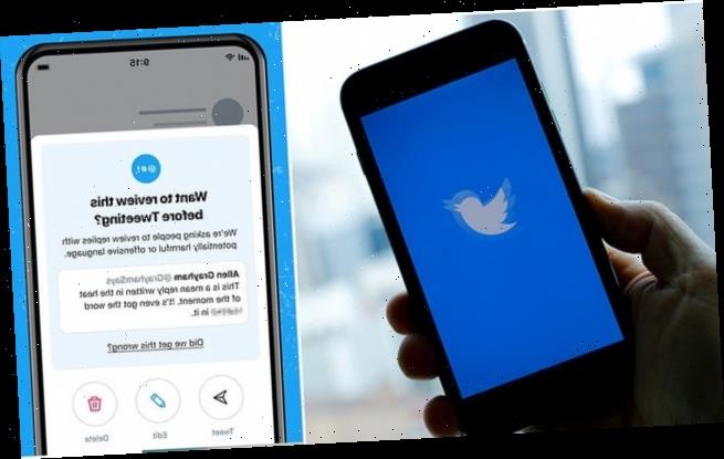 Twitter tests feature that encourages users to revise harmful tweets