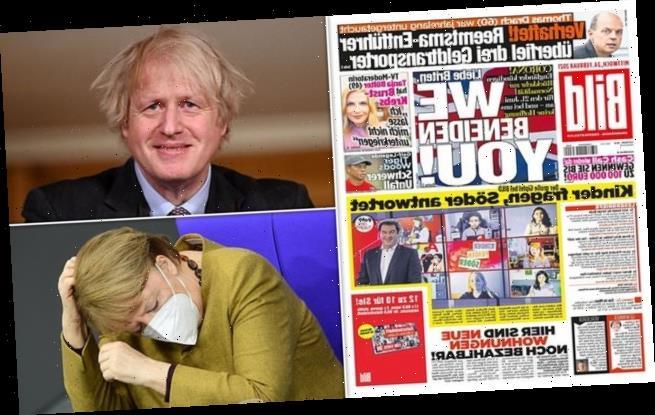 Germany's biggest newspaper praises Britain's vaccine success