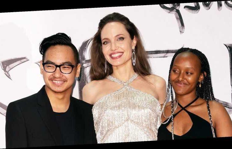 Angelina Jolie Says Quarantining With Kids Has Made Them 'Feel Very Human'