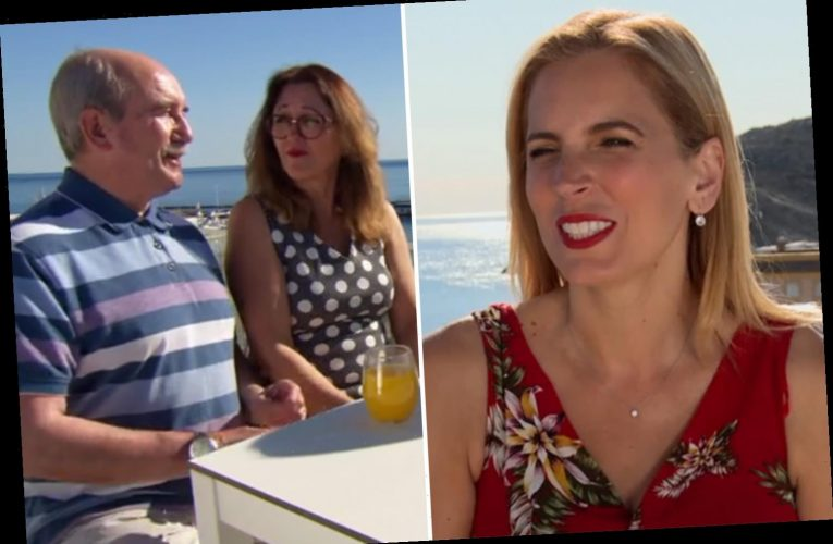 A Place in the Sun's Jasmine Harman gasps 'what have I done?!' as couple turn on each other