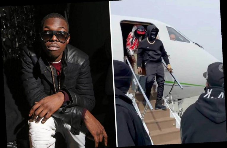 Bobby Shmurda welcomed home from jail by Chris Brown after rapper facetimes mom