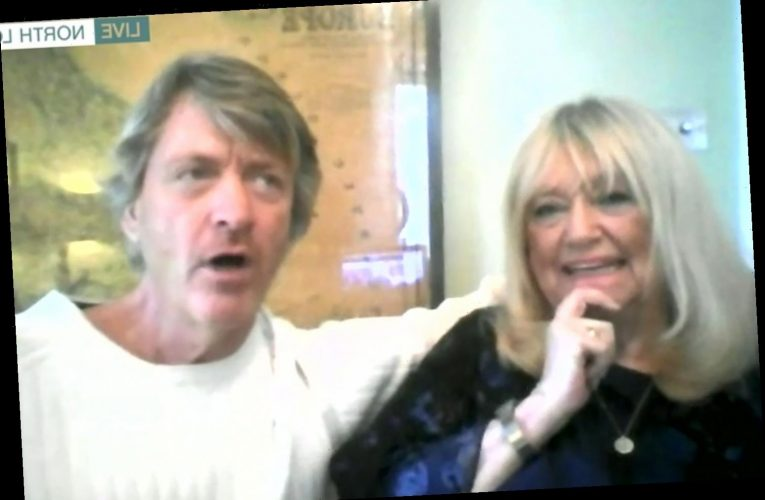 This Morning fans baffled by Richard Madeley's intense staring at Judy Finnigan as they return to show